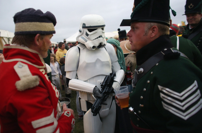 English Heritage History Live 2013 - Storm Trooper