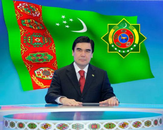 Gurbanguly Berdymukhamedov - Jlo Turkmenistan - Falling off horse