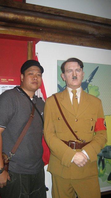 Indonesian Nazi Hitler Cafe - Soldaten Kaffee - Hitler Figure