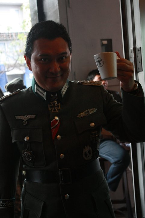 Indonesian Nazi Hitler Cafe - Soldaten Kaffee - Opening Night