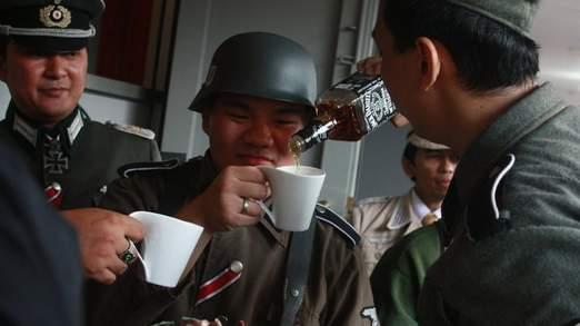 Indonesian Nazi Hitler Cafe - Whisky