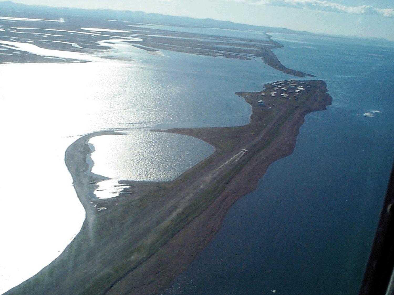 Kivalina - Alaska - Aerial View