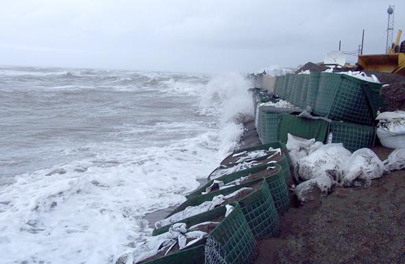 Kivalina - Alaska - Defences
