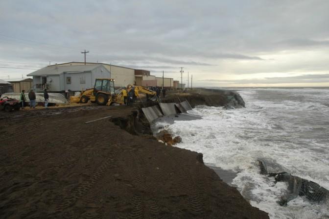 Kivalina - Alaska - Flood Defences