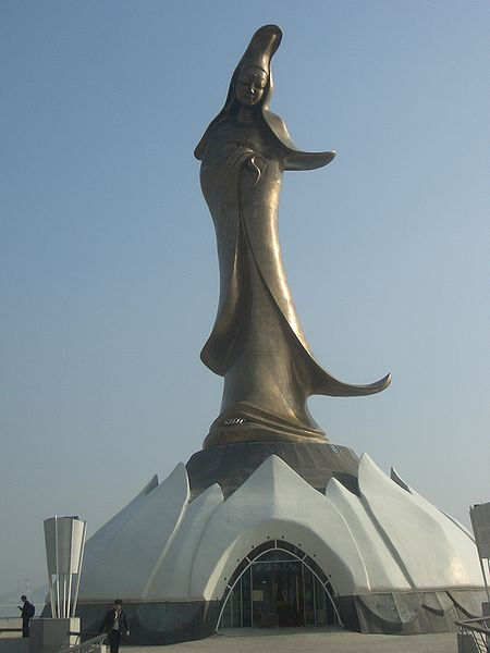 Macau Macao - Statue of Guanyin