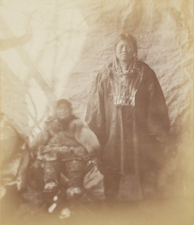 Photos of Eskimo Inuit - 1879 - Mother and Child
