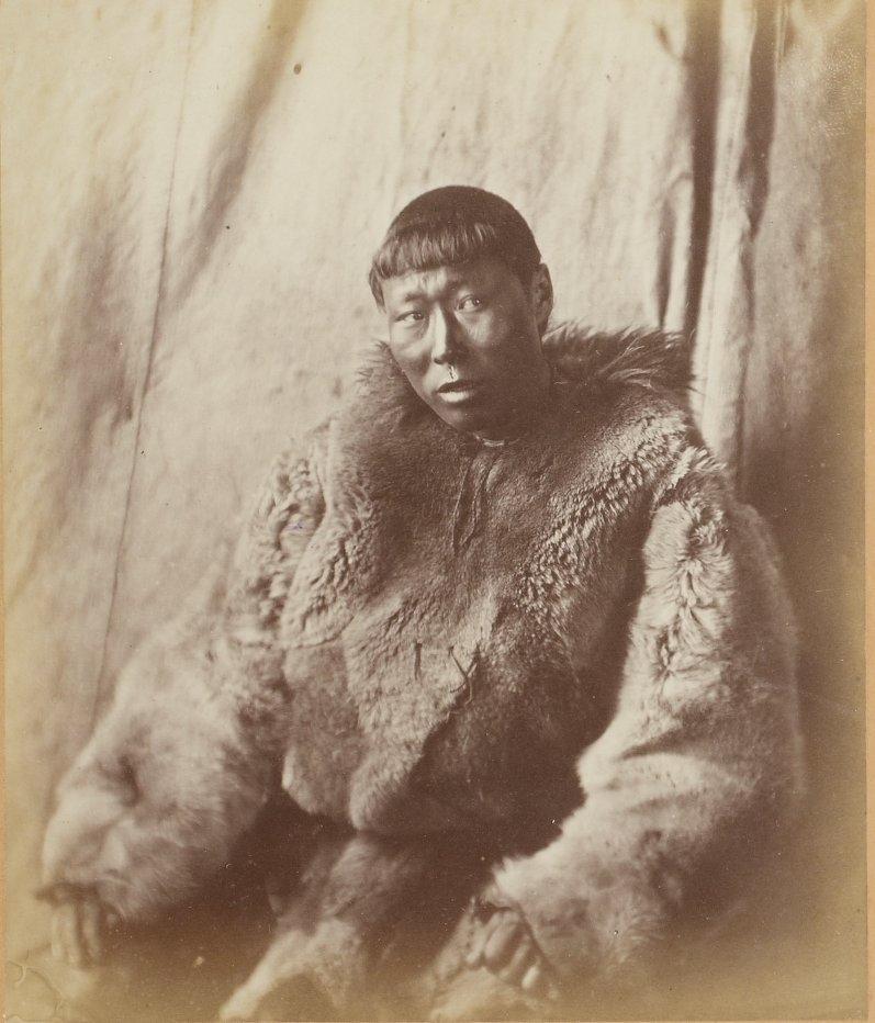 Photos of Eskimo Inuit - 1879 - Noble