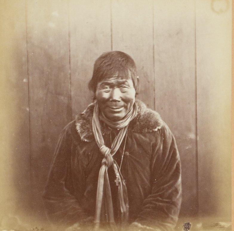 Photos of Eskimo Inuit - 1879 - Old Man