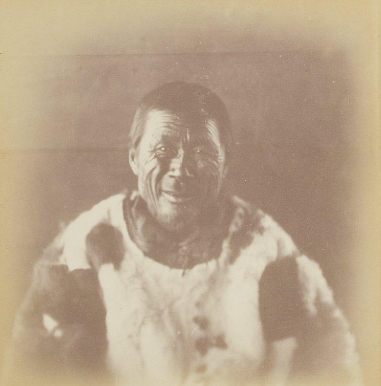 Photos of Eskimo Inuit - 1879 - Older Man