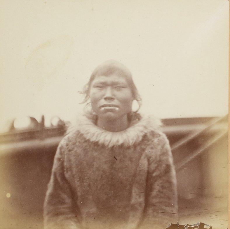 Photos of Eskimo Inuit - 1879 - Woman 2