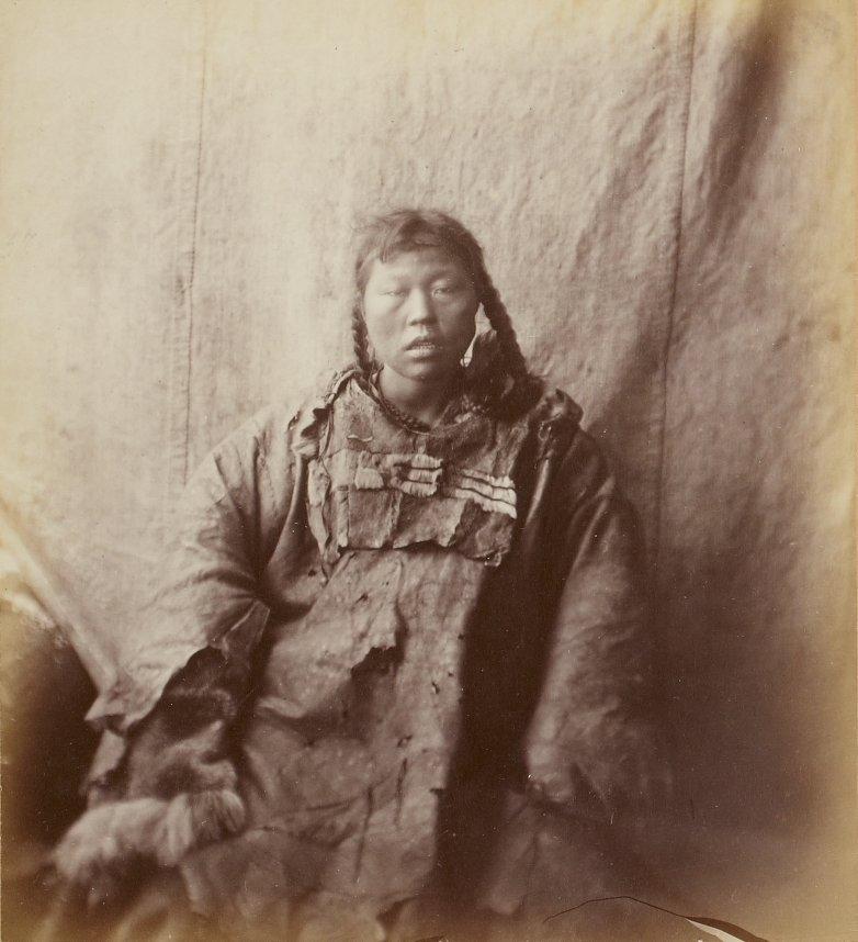 Photos of Eskimo Inuit - 1879 - Woman