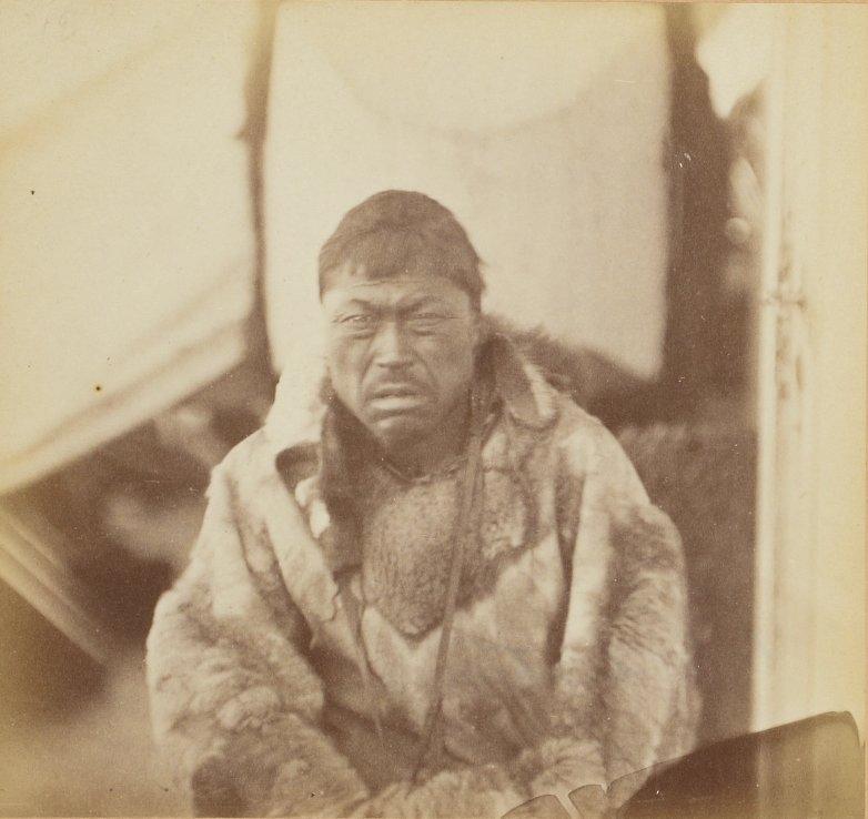 Photos of Eskimo Inuit - 1879 - Young Man Hunter