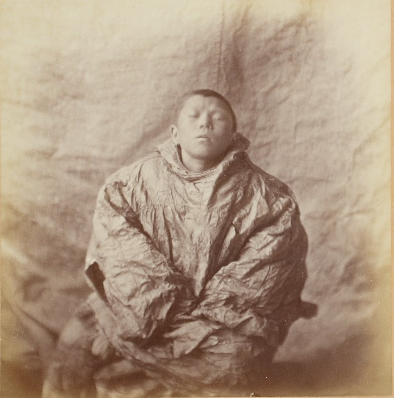 Photos of Eskimo Inuit - 1879 - Young Poncho