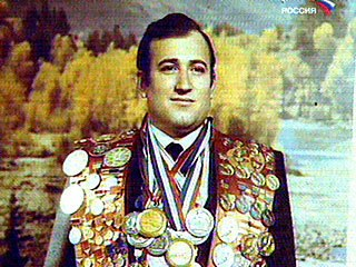 Shavarsh Karapetyan - Real Life Hero - Decorated Russian Hero TV Screen Grab