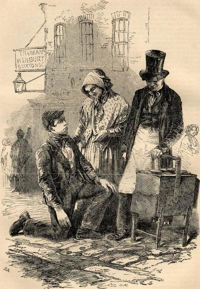 Victorian Food Drama Manipulation Meat - Penny Pie Man