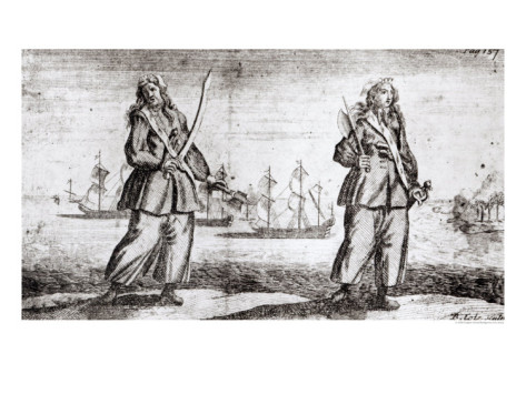 Ann Bonny And Mary Read - Women Pirate Ladies