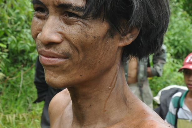 Father and Son Pair FOund In Vietnam Jungle After 40 Years - Ho Van Lan close up