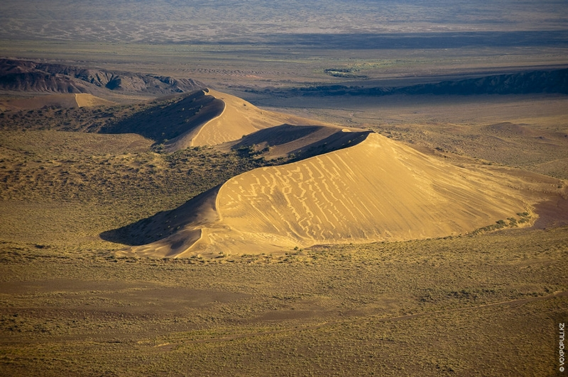 Kazakhstan Photo Collection From Helicopter - Dunes
