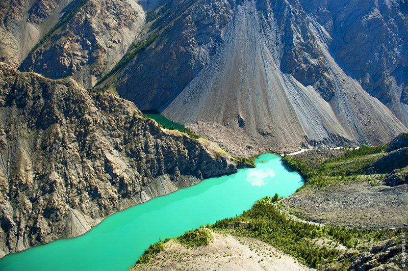 Kazakhstan Photo Collection From Helicopter - Stone Flour 2