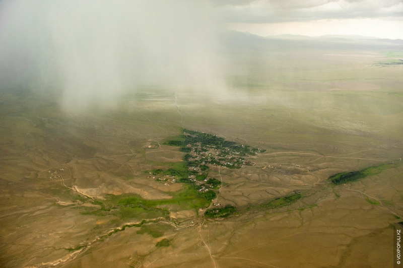 Kazakhstan Photo Collection From Helicopter - Town 2