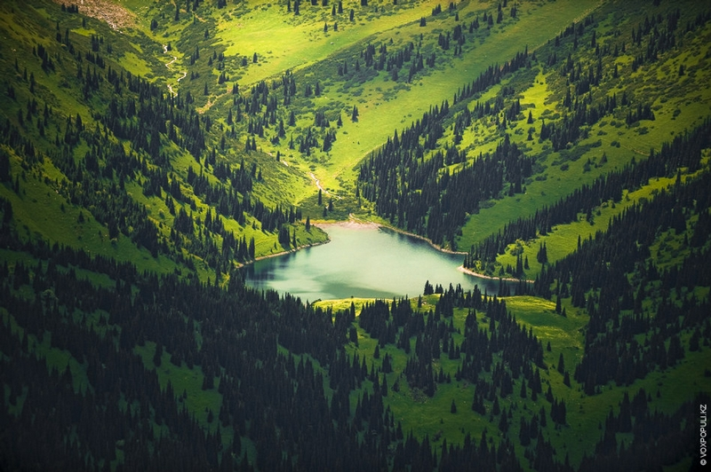 Kazakhstan Photo Collection From Helicopter - Valley
