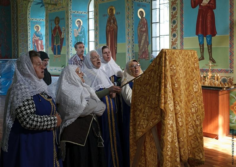 Malinovsky monastery - Russia - Choir