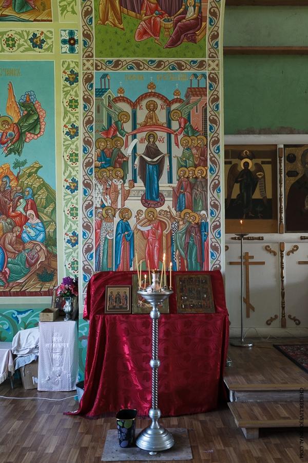 Malinovsky monastery - Russia - Font