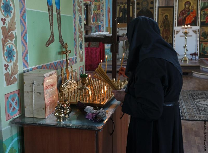Malinovsky monastery - Russia - Incense