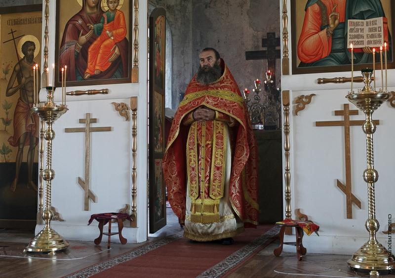 Malinovsky monastery - Russia - Monk