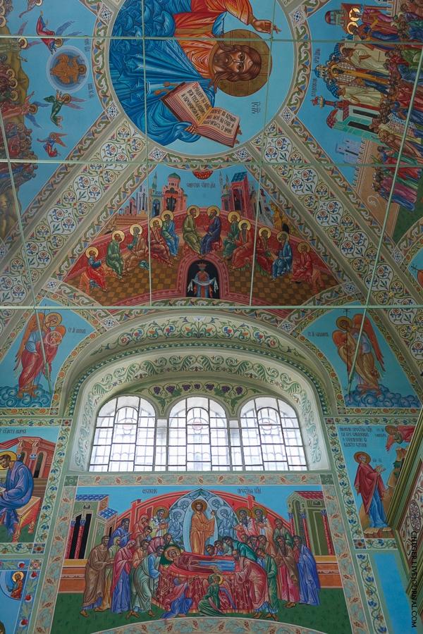 Malinovsky monastery - Russia - Mural 2