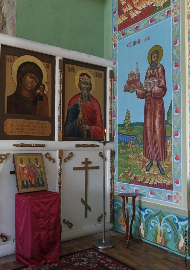 Malinovsky monastery - Russia - Mural 3