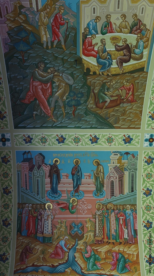 Malinovsky monastery - Russia - Mural