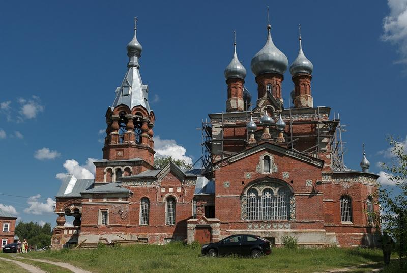 Malinovsky monastery - Russia - Outside