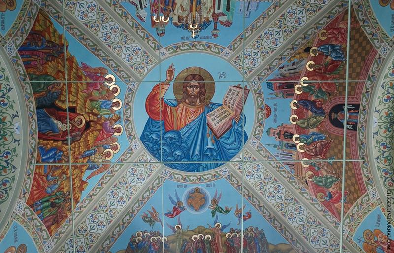 Malinovsky monastery - Russia - Roof