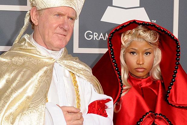 Nicki Minaj Is Illuminati Satanic Murderer - With Bishop Whore of Babylon