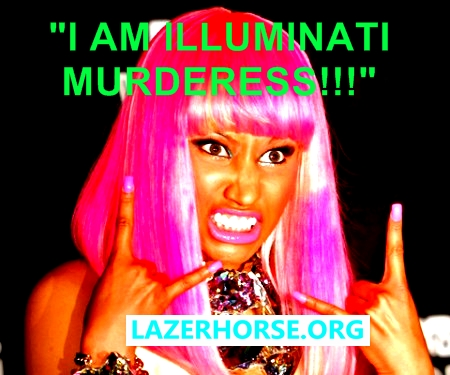 Nicki Minaj Is Illuminati Satanic Murderer