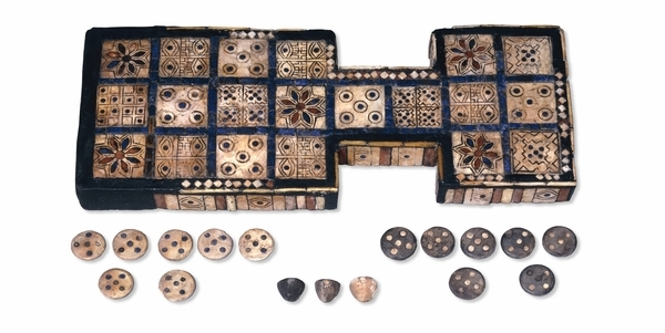 Oldest Board Games - Royal Game of Ur Board