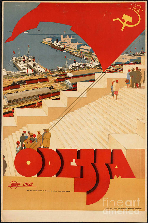 Russian Tourist Posters - Vintage Ukraine Poster