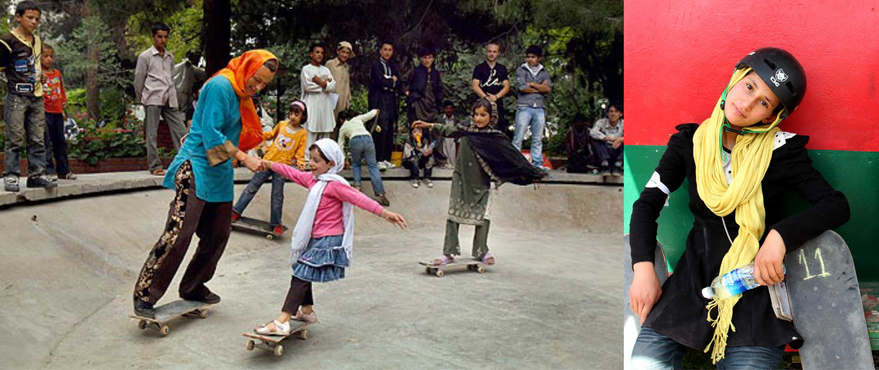 Skateistan - Afghan Girls Skateboarding - Skateboard Tutors