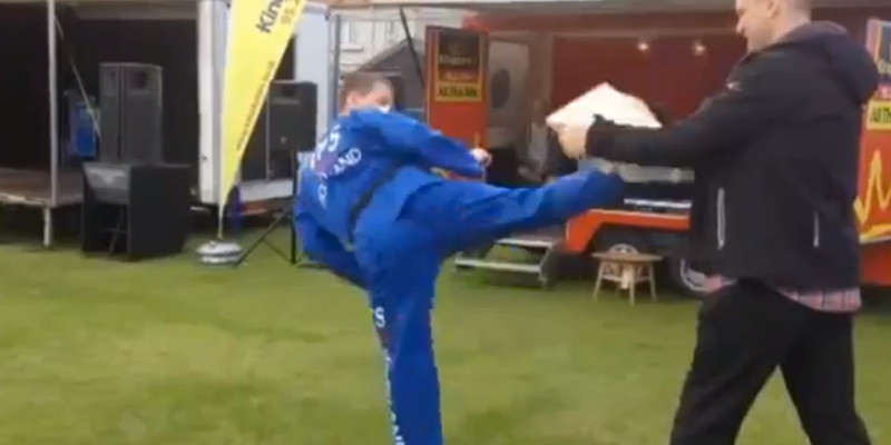 Taekwondo Karate Fail Video Scotland