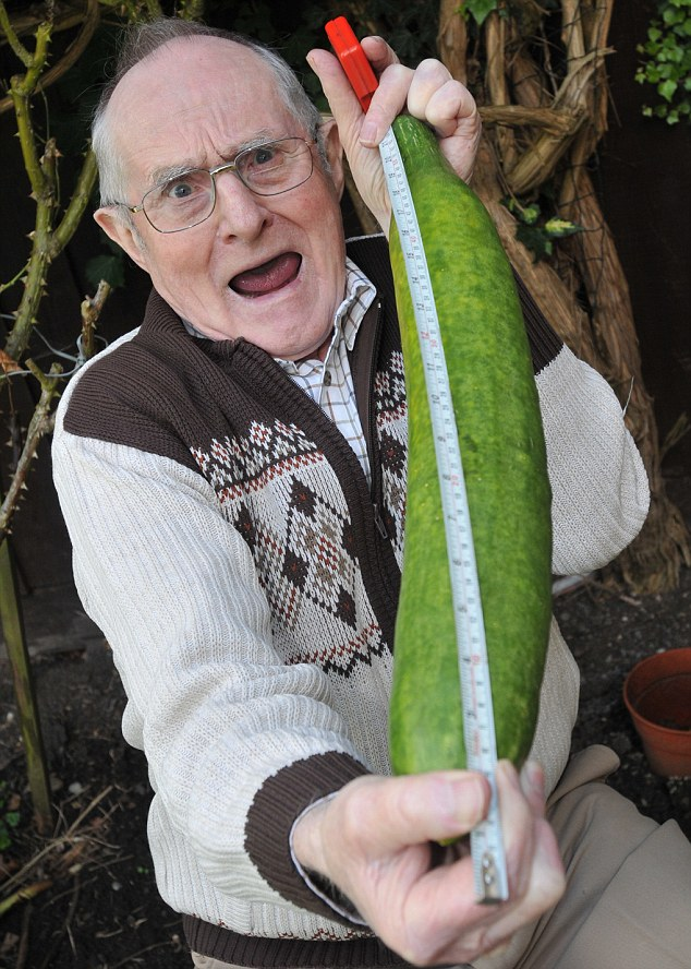 Big Vegetable - Photo Collection - Monster Vegetable - Giant Cucumber - Gorden Spence 1