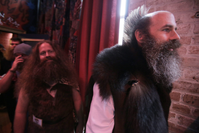 Fourth National Beard And Moustache Competition New Orleans - Cave Man Beards