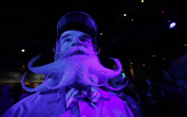 Fourth National Beard And Moustache Competition New Orleans - Imperial