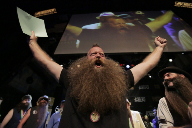 Fourth National Beard And Moustache Competition New Orleans - Jeff Langum