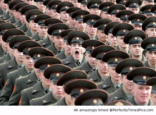 Funniest Pics Ever Best Lol- Bored Soldier