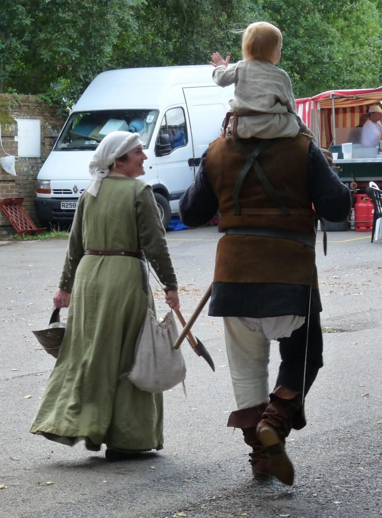 Herstmonceux - Medieval Festival 2013 - Bedford Van