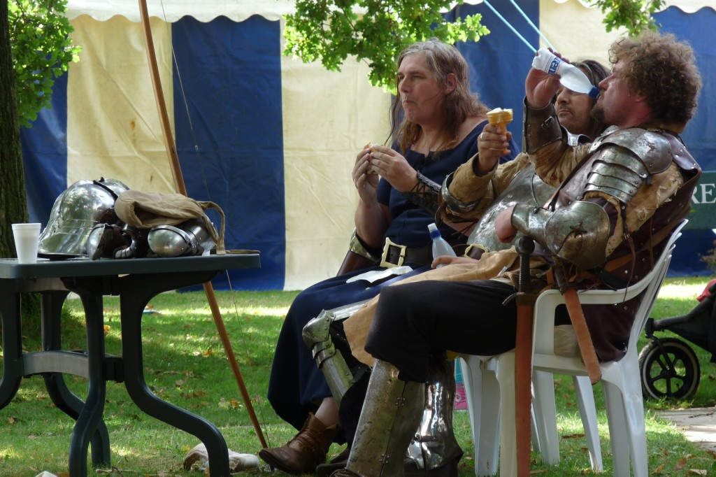 Herstmonceux - Medieval Festival 2013 - Bottled Water And Ice Cream