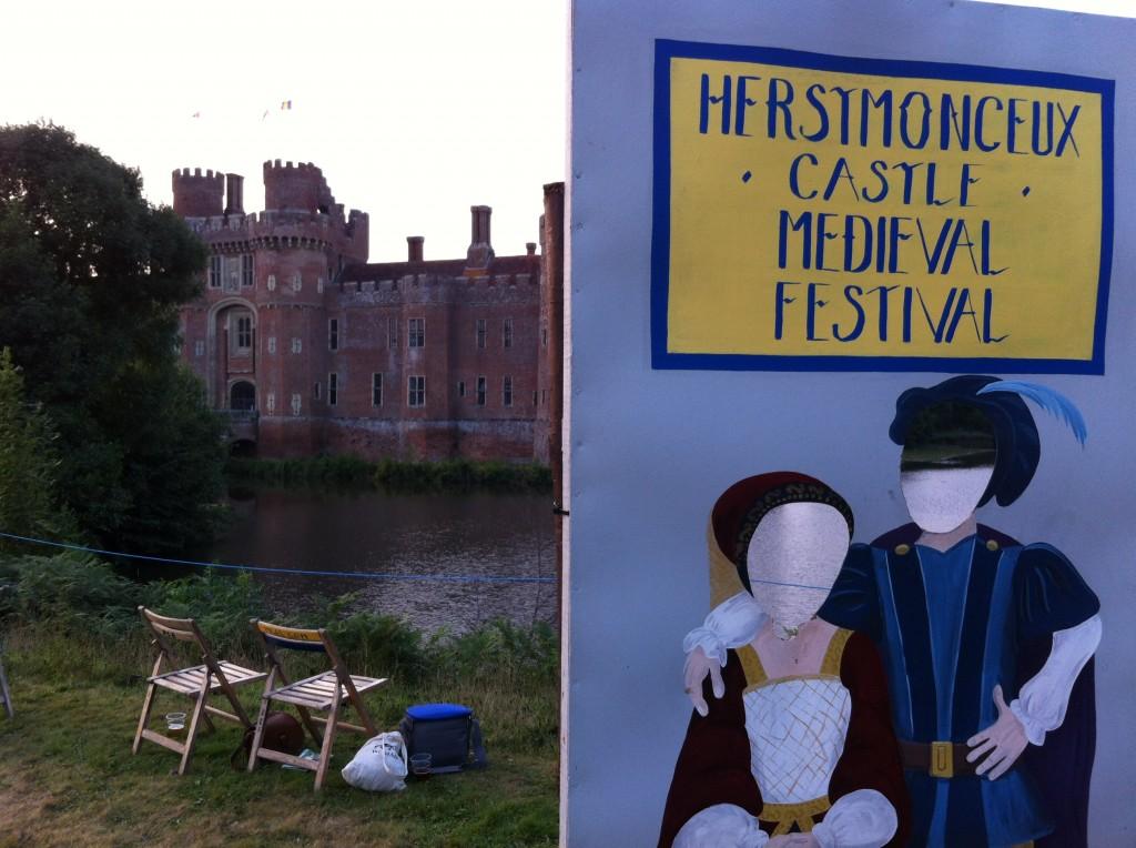 Herstmonceux - Medieval Festival 2013 - Castle Header