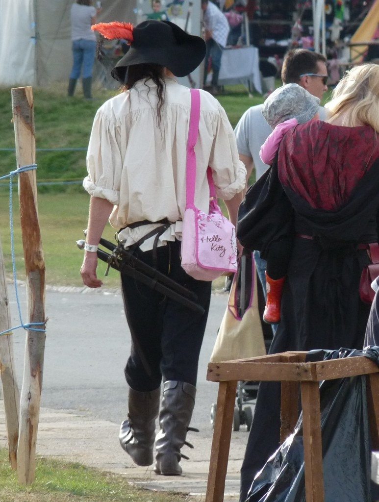 Herstmonceux - Medieval Festival 2013 - Hello Kitty Bag
