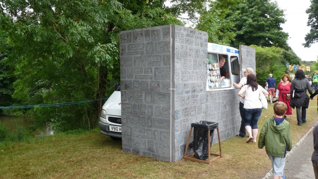 Herstmonceux - Medieval Festival 2013 - Ice Cream Van